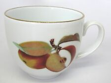 Royal Worcester - Evesham - Flat Cup with Gold Trim on Handle - made in England