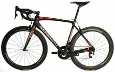 STRADALLI SRAM RED E-TAP SAN REMO CARBON AERO Wheels FSA ROAD BICYCLE BIKE 47cm