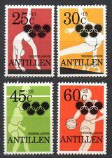 Dutch Antilles - 1980 Olympic games Moscow Mi. 425-28A MNH