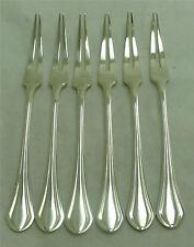 Christofle modèle Printania, 6 rares fourchettes à escargots, état neuf, lot 2/2