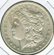 1884 S Morgan Silver Dollar - Choice EF