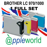 1 Set of Cartuchos de tinta compatible con LC970 / LC1000 [not Brother original]