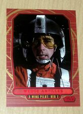 2012 Topps Star Wars Galactic Files RED parallel WEDGE ANTILLES #118 32/35