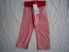 So 15- raide agréable Rouge legging, rouge rayé gr. 74-86