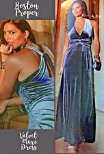 NEW Boston Proper Elegant Gorgeous Cocktail Formal Gown Maxi Dress XS 2-4 $129