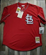 Ozzie Smith #1 St. Louis Cardinals Mitchell & Ness Cooperstown Jersey Xl Size 48
