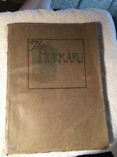 1920 CONCORDIA HIGH SCHOOL YEARBOOK, THE HURKARU, CONCORDIA, KANSAS