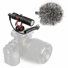 Movo VXR10 Universal Cardioid Condenser Video Microphone with Shock Mount
