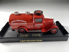 A268 SOLIDO 1:43 CITROËN CITERNE MADE IN FRANCE METALL Tanker Feuerwehr