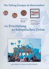 BRD Numisblatt mit 1,2 und 5 Cent 2004 A. MzSt. Berlin, UNC