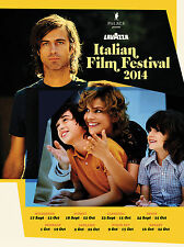 LAVAZZA ITALIAN FILM FESTIVAL AUSTRALIA POSTER KIM ROSSI STUART
