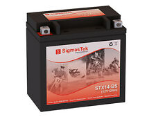 Big Crank ETX14 Replacement Motorcycle Battery by SigmasTek