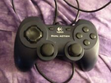 Logitech Dual Action USB PC video game Controller