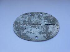 2ww  military depot   German  dog tag / identity disc WEHR KR ERS DEP V1 A11997