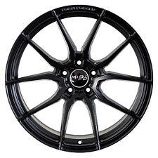 19X8.5 +35 MIRO F25 5X114.3 BLACK WHEEL Fit JDM Cressida RAV4 Sienna RX8 TL