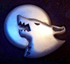Space Wolf Logan Grimnar company badge pin