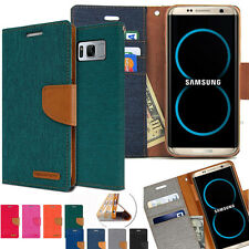 Slim Flip Diary Leather Wallet Case Cover For Galaxy S20 Ultra S20+ S9 S10 Note