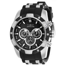 Invicta Speedway 25832 Men's Silicone Chronograph Black Dial Watch