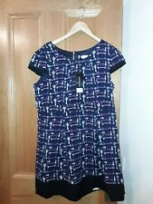 *OLIVIA RUBIN LONDON* FOR DOROTHY PERKINS KEY PRINT DRESS/LONG TUNIC NEW £45