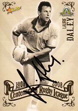 2008 NRL CENTENARY OF RUGBY LEAGUE SIGNATURE TRADING CARD - LAURIE DALEY