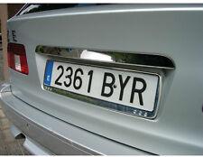 Sumex coche Front / Rear Chrome Plástico número de licencia soporte de la placa de sonido envolvente