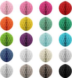 Papier Pompoms 10 / 20 / 30 / 40 cm Wabenball