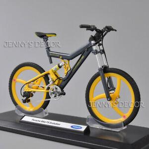 Welly 1:10 Scale Diecast Bicycle Model Toy Porsche Bike FS Evolution Replica