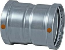 """4"""" - Viega Stainless Steel ProPress #85305 XL-S 304 Coupling NEW"""