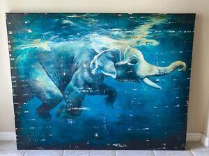 RM ELEPHANT UNDERWATER 60 X 47 X 2