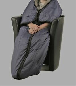 Rollstuhldecke universal / vielseitig auch als Schlupfsack / Beinschutzdecke etc