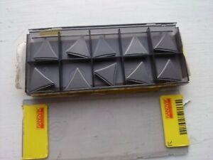 10 Sandvik cermet tips TPMR 16 03 08-53 5015 ( TPMR160308 160308 TPMR 322 finish