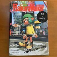 Haikara Walker Splatoon 2 Art Fan Book Octo Expansion Japanese Game Design Works