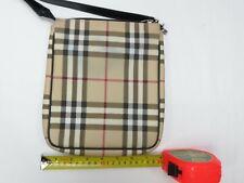Burberry London Shoulder Bag  Beiges PVC 809068
