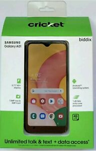 Samsung Galaxy A01 SM-A015A - 16GB - Black (Cricket Wireless) (Single SIM)