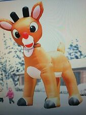 Rudolph The Red nose Reindeer Giant 15 Ft Inflatable,animated, NEW