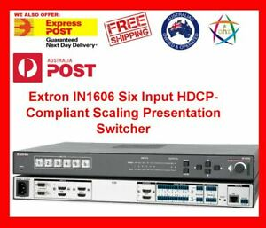 Extron IN1606 Six Input HDCP-Compliant Scaling Presentation Switcher