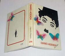 Diario Agenda CHARLIE CHAPLIN Charlot - 1982 NUOVO Diary School