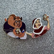 "Disney Fantasy Pins Beauty & Beast ""Hollar"" Chip & Dale Invades Pin"