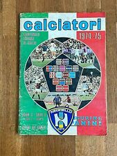 Album sticker PANINI CALCIATORI 1974 75 COMPLETE figurine soccer football wc 70