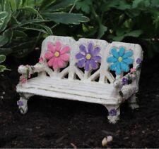 Flower Fairy Garden Bench WS 1750 Miniature Fairy Garden