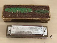 M. HOHNER The Chromonica Chromatic Harmonica Made In Germany With Box Music