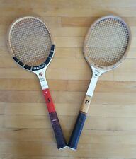 Vintage pair of Wooden Tennis Rackets incl. Spalding and Paramount Speed King