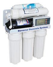 6 Stufen 400 GPD Umkehr Osmose Anlage direct flow Wasserfilter Mod. 2018 1:0,65L