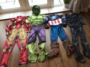 Boys Superhero Avengers Dress Up Costume Bundle Outfit