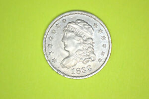 1833 Capped Bust Half Dime- Choice Details/ Cleaned. From local collection