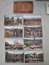 Vintage DAILY MAIL Official WAR, WWI,  8 POSTCARDS, London, SERIES II,Unused