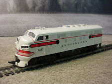 HO scale Athearn Chicago Burlington & Quincy RR EMD F7A  locomotive tested