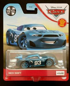 Disney Pixar Cars 3 Nick Shift Mattel Die-cast Car, Next Gen Racer #93 Sparemint