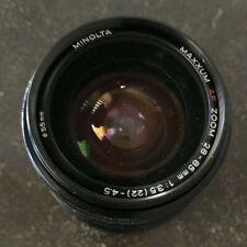 Minolta Maxxum AF Zoom 28-85mm 1:3.5(22)-4.5
