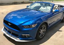 Front Wind Splitter for 2015+ Mustang without Performance Package